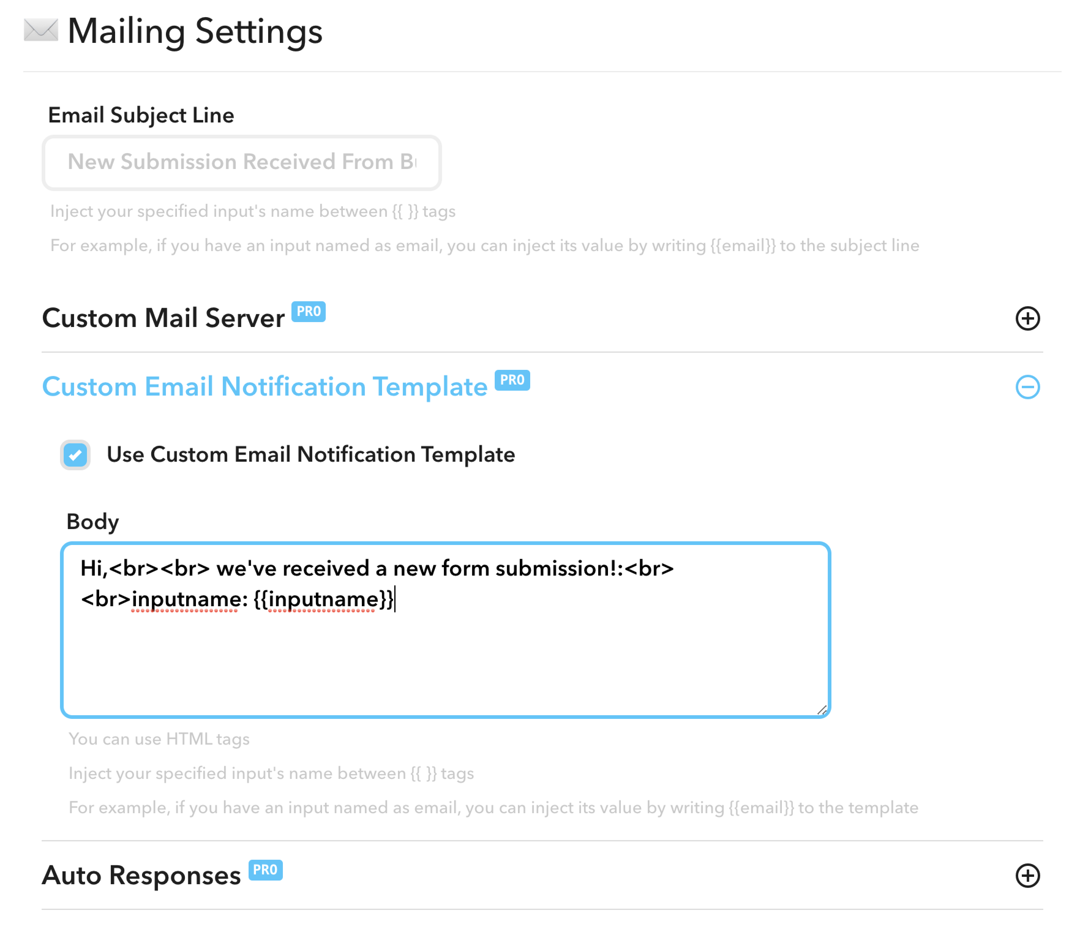 Custom email templates overview